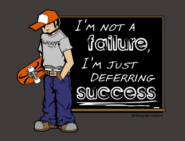 Deferring Success T-Shirt Design