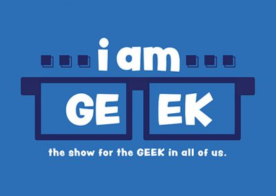 I Am Geek Logo Design
